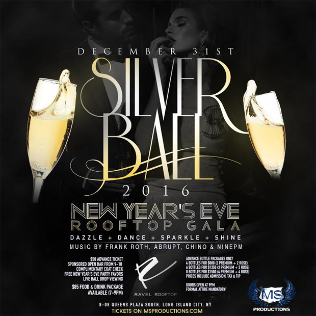 NYC New Years Eve Parties at Teqa Lounge, LQ, Club Glazz ...