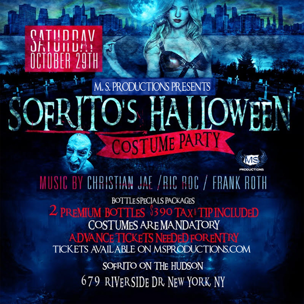 sofrito nyc halloween party - Halloween On The Hudson