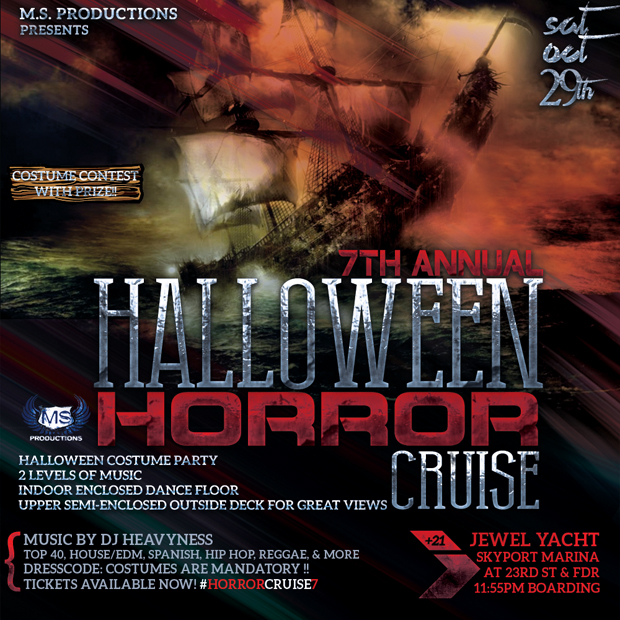 Halloween Horror Cruise 7, boat party