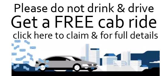 Free Cab Ride