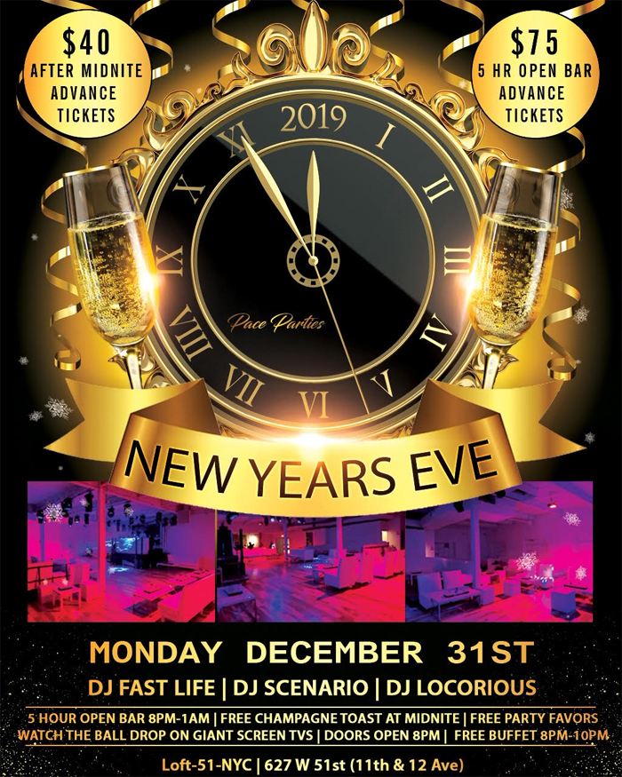 New Years Eve at the Loft 51